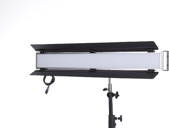 Falcon Eyes LPL-S2802T Soft LED Video Light 5600K Daylight Photo Studio Film Photography with Barn Door