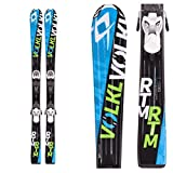 2016 Volkl RTM 140cm Junior Skis w/ 3Motion 4.5 Ski Bindings