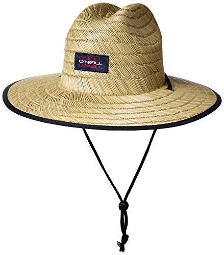 Quiksilver Mens Pierside Slim Straw Hat Aqyha03741 Ctf1 Sun