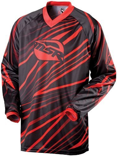 Msr Riding Gear - MSR Axxis Jersey , Distinct Name: Red, Primary Color: Red, Size: Sm, Gender: Mens/Unisex 334369