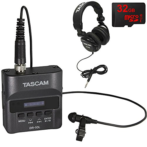 Tascam Portable Recorder Lavaliere Microphone product image