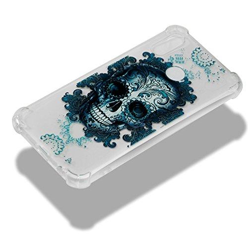 iphone sans Flexible Transparent sirène Premium Ghost Ultra Silicone Coque transparent Pour Housse 10 Head peint Semi Peint X Iphone Bonroy fine Coque Clear Encombrement crystal Cloud OF1P1Untx