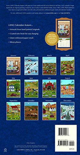 Lang Folk Art Calendar : Lang folk art vertical wall calendar by mary