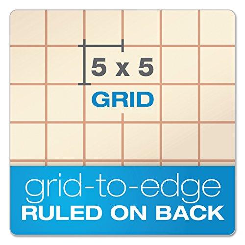 Gold Fibre Retro Pad, Wide Rule, 8-1/2 x 11-3/4, Antique Ivory, 70-Sheets/Pad (20-008R)