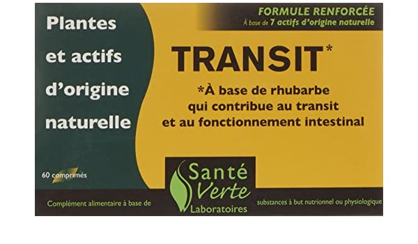 Amazon.com: Santé Verte - TransitPhyt - 60 comprimés: Health & Personal Care