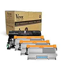 V4INK® (1 Drum + 3 Toner) New Compatible Brother DR420 + TN450 TN-450 (TN-420) Compatible Drum Unit and Toner cartridge