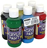 Limited Time Offer on 22-4806 Sargent Art Primary Acrylic Paint Set, 4 oz, 6-Pack.