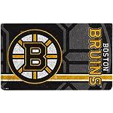 Boston Bruins Logo Graphic Print Welcome Coir Door Mat