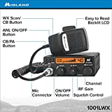 Midland 1001LWX 40 Channel Mobile CB with ANL, RF