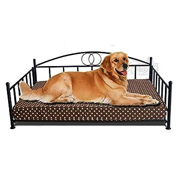 Cama de perro de hierro forjado Golden Retriever cama grande ...