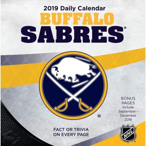 - Turner 1 Sport Buffalo Sabres 2019 Box Calendar Desk Calendar (19998051459)
