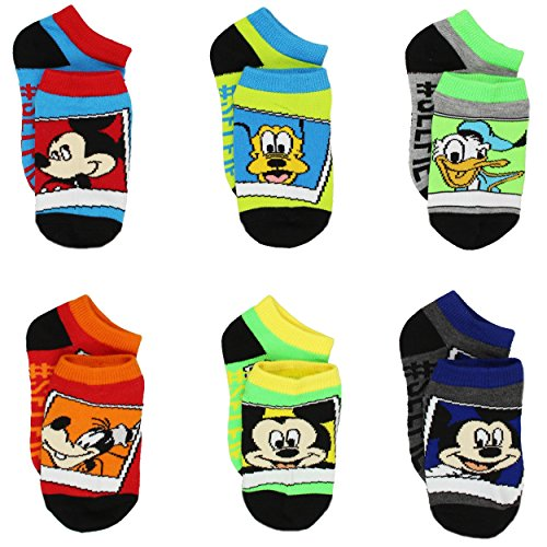 Mickey Black Socks - 6