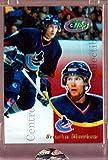 (CI) Brendan Morrison Hockey Card 2003-04 Topps E-Topps 18 Brendan Morrison