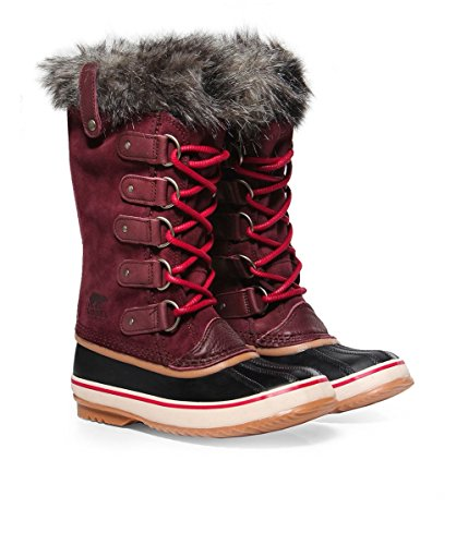 SOREL Women's Joan Of Arctic Redwood/Red Element 7 B - Nyc Store Soho