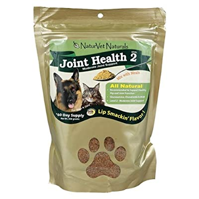 NATURVET 978062 Joint Health Level 2 Powder 60Day for Pets