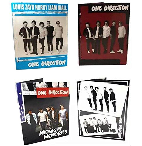 1D One Direction 2-pocket Portfollio Folder Assorted 1 Count -