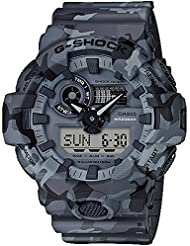 G-Shock  Mens GA700CM-8A Gray/Camo One Size