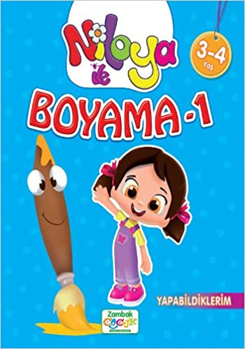 Niloya Ile Boyama 1 Yapabildiklerim 9786051122793 Amazoncom Books