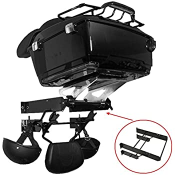Tour Pak Pack Accessory Motor Storage Rack Fit Harley Touring Models Wall Mount