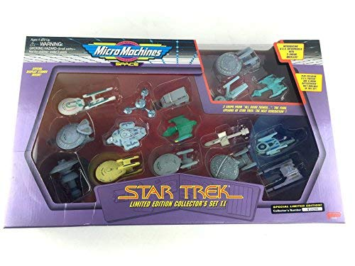 Galoob Micro Machines Star Trek Limited Edition Collector's Set ()