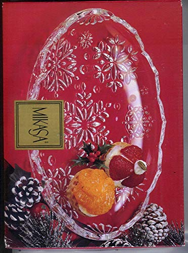 - Mikasa Snowflake Sweet Dish