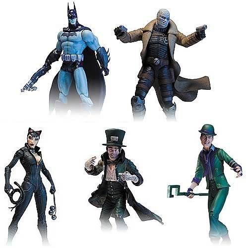 Batman Arkham City Series 2 Action Figure Set