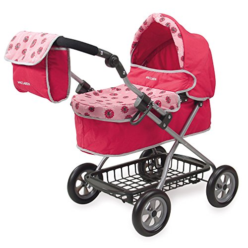 Maclaren Junior Travelmate Pram Doll Stroller in Dandelion