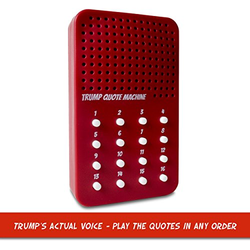 durable service The Donald Trump Quote Machine - 16 Classic
