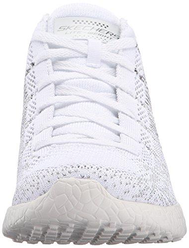 12730 deporte al mujeres libre zapatos ráfaga del las aire Skechers Blanco wO1RTq7n