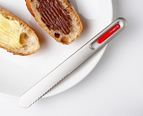 THAT! Spread That Serrated Warming Butter Knife, Black