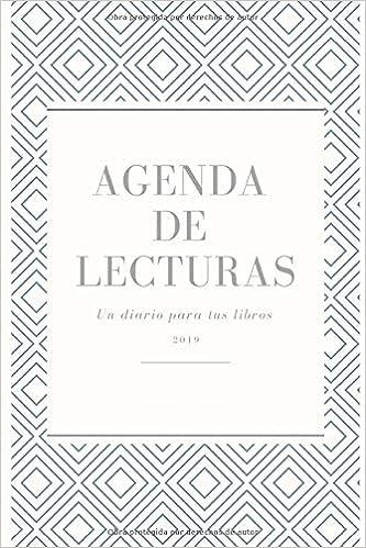 Agenda de Lectura 2019: Un diario para tus libros: Amazon.es ...