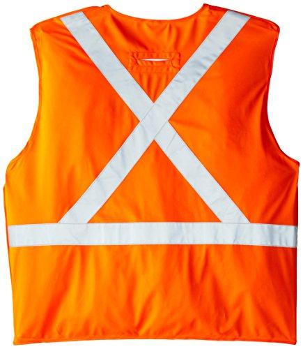 Viking FR Flame Resistant Reflective Vest, Orange, XX-Large/3X-Large by Viking (Image #2)