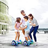 TOMOLOO Hoverboard with Bluetooth Speaker, UL2272