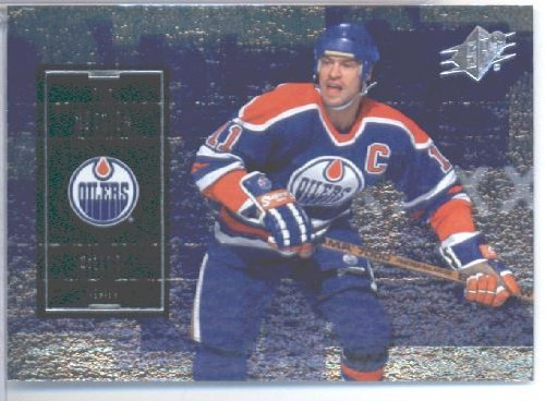 2009 10 Upper Deck SPX Hockey Card # 5 Mark Messier Oilers Mint Condition - Shipped In Protective ScrewDown Display Case!
