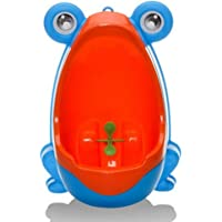 QIANGUANG Froschkinder Töpfchen Toilette Ausbildung Kind Urinal zum Junge Pinkeln Trainer Bad
