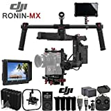 DJI Ronin-MX 3-Axis Gimbal Stabilizer with 4k Supported HD Mounted Monitor, Proefssional Hard Case & Production Bundle