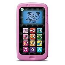 LeapFrog Chat and Count Smart Phone, Violet CustomerPackageType: Frustration-Free Packaging Color: Violet Model: 19247 by Toys & Child