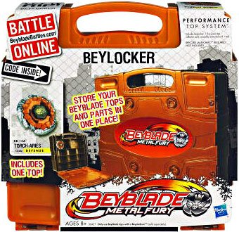 - Beyblade Metal Fury Beylocker Case