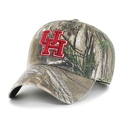 NCAA Houston Cougars Realtree OTS Challenger Adjustable Hat, Realtree Camo, One Size]()