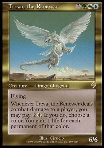 Magic: the Gathering - Treva, the Renewer - Invasion