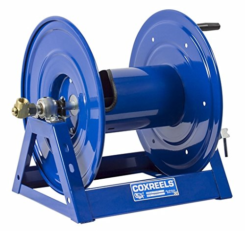Coxreels 1125-5-50 Steel Hand Crank Hose Reel, 3/4'' Hose I.D., 50' Hose Capacity, 3,000 PSI, without Hose, Made in USA by Coxreels