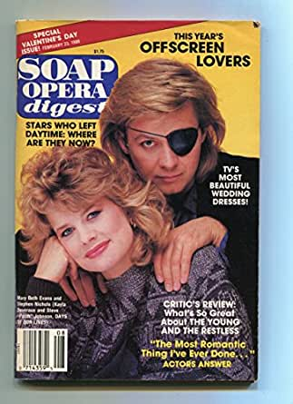 Soap Opera Digest-January 10 1989-Mary Beth Evans-Stephen Nichols-FN