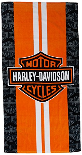 - Harley-Davidson Racing Stripes Beach Towel 30 in. X 60 in.