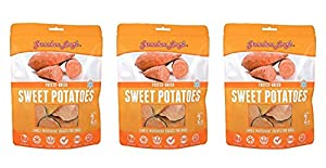Grandma Lucy's Freeze Dried Sweet Potato Singles Treats 3 pack