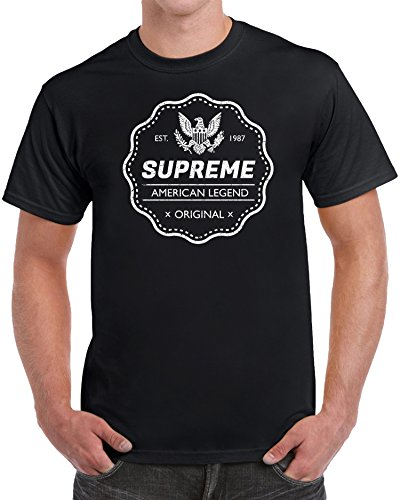 Supreme American Legend 1987 32nd Birthday Gifts for Men T-Shirt - (Small) 24682b08f0a