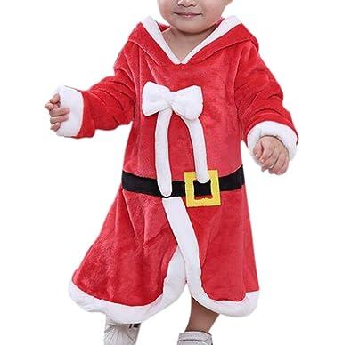 Huateng Baby Christmas Disfraces De Papá Noel: Amazon.es ...