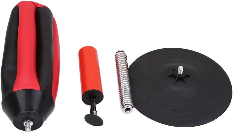 Jixing Stress Buster Desktop Punching Ball Speedball Speed Punch Bag 18cm black and red