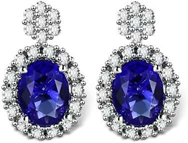 T400 Jewelers Vintage Crystal CZ Stud Earrings Love Gift