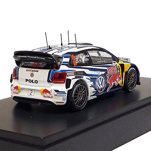 Volkswagen 6 C1099300b Modelo Auto Polo R WRC - latvala/anttila 1 ...