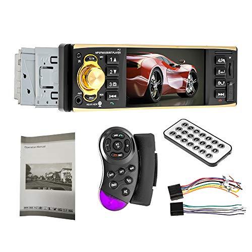 Tickas MP5 Car Player Mini Size Lightweight 4.1 Inch BT2.0 Colourful HD Monitor Multimedia Car Fm Radio MP5 Car Player